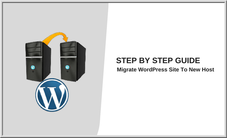Migrate a WordPress website to new host
