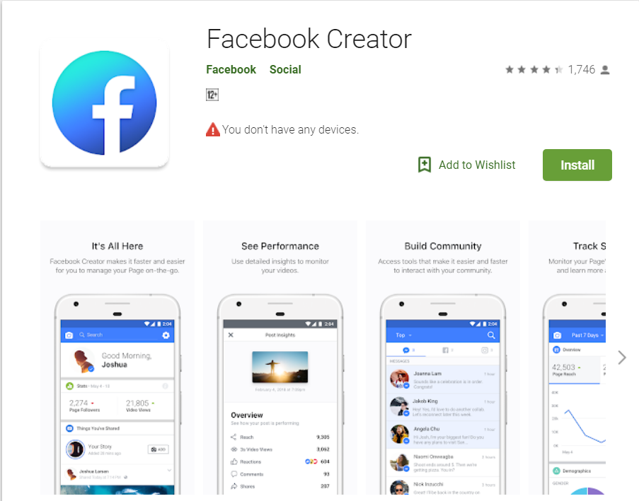Download Facebook Creator Mod APK ( Updated ) for Android | WikiWon