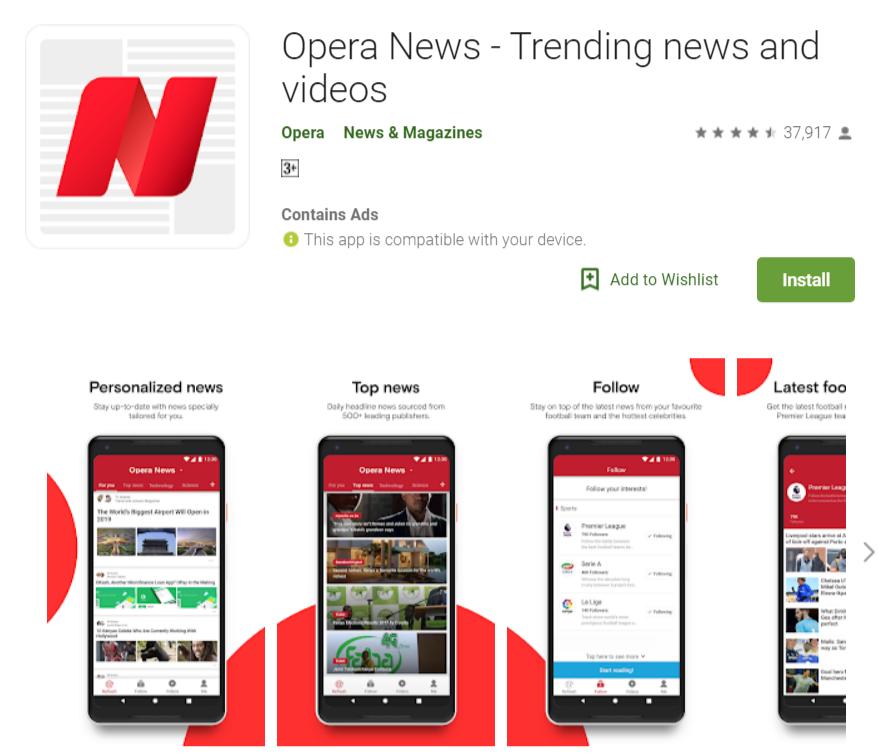 opera news mod apk