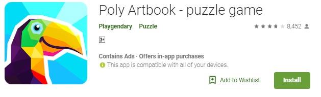 Poly artbook mod apk