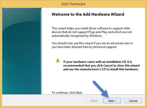 Add inheritance hardware wizard