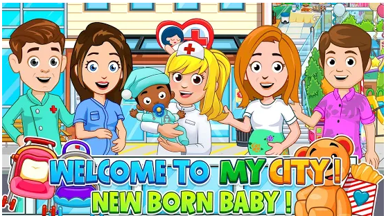 My City Newborn baby Mod APK