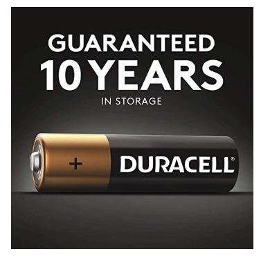 AA Batteries Duracells of 2019