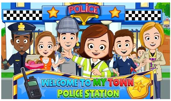 My Town Police Station mod apk