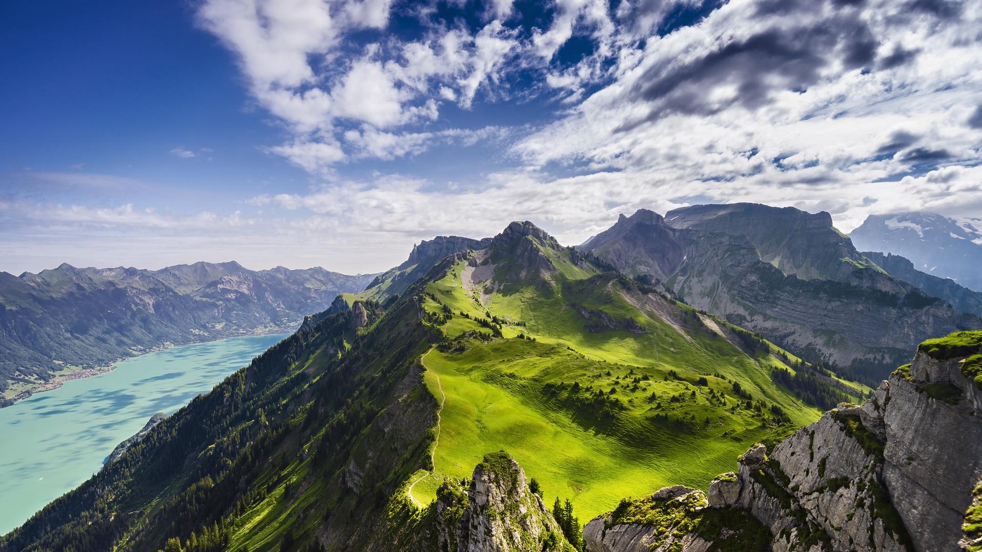 Schynige Platte to Faulhorn to First, Switzerland