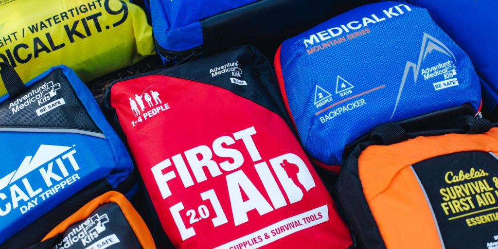 Building Hiking First Aid Kit