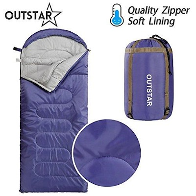 OUTSTAR Lightweight Waterproof Mummy Bag